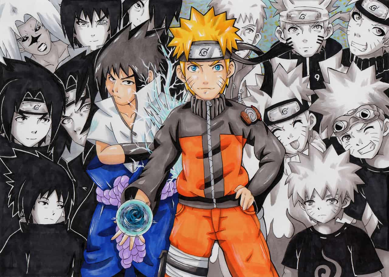 Naruto and Sasuke Memories