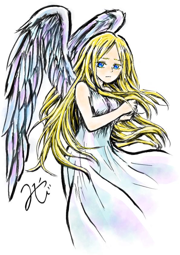 天使 Illust of 嫺やか medibangpaint angel 筆 original