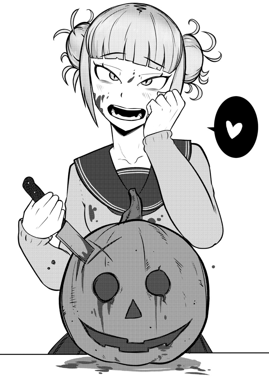 Himiko Toga Fanart My Hero Academia Richard Manga Art Illustrations Art Street
