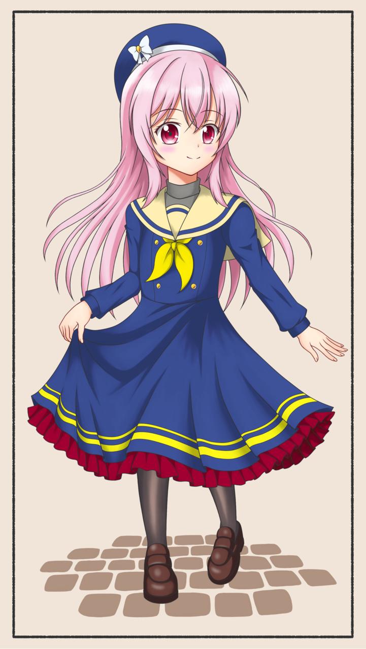 冬制服 Illust of プラスダッシュ701 medibangpaint original girl uniform 冬制服