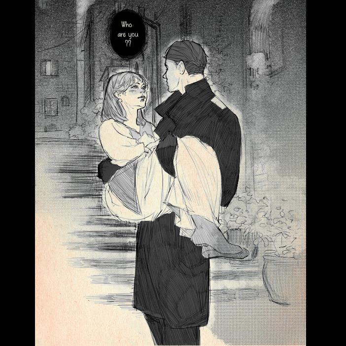 Encounter Illust of SophieJinny shoujo_illustration