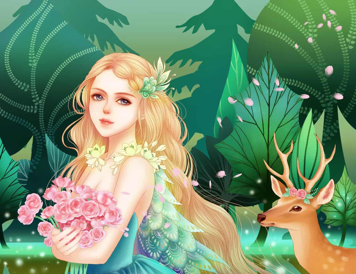绿叶森林 Illust of 多多和皮皮的姐姐 Jul.2019Contest