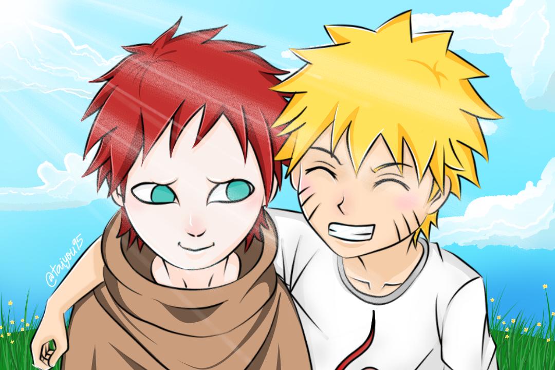 Gaara & Naruto childhood
