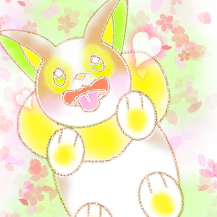 ワンパチ Illust of カンダラ pokemon sakura ワンパチ medibangpaint