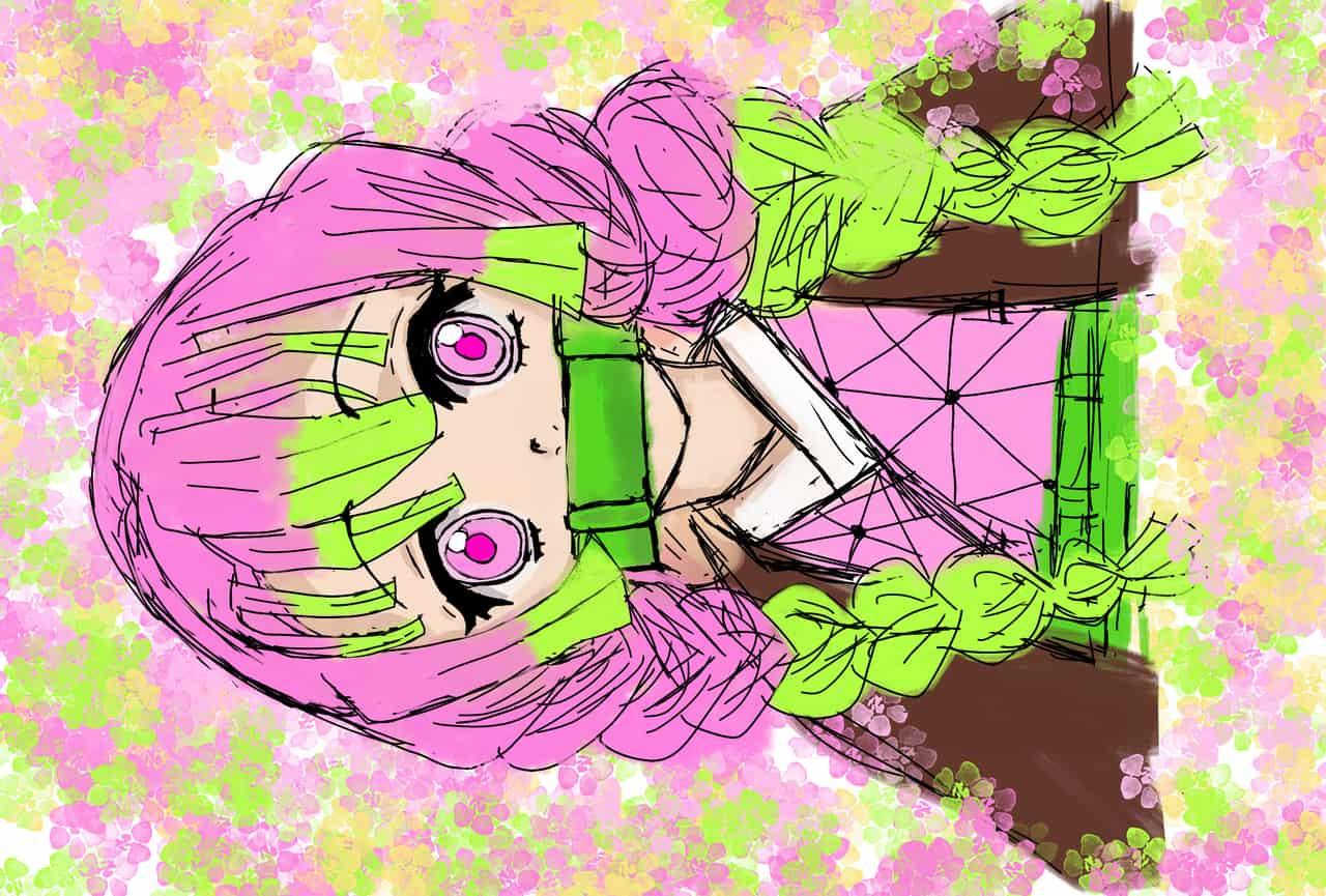 蜜豆花 Illust of Jessy179 DemonSlayerFanartContest 蜜璃 KimetsunoYaiba KamadoNezuko