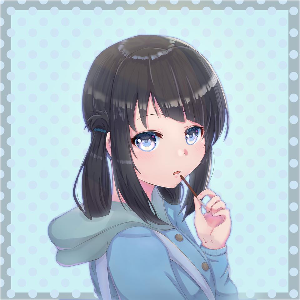 Miuna  Illust of Mantenz 凪のあすから anime naginoasukara miuna animegirl alullinthesea miunashiodome