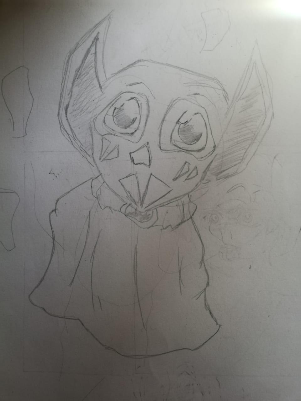 Riboku Keeper Treasures Illust of Jal March2021_Creature February2021_Fantasy creature