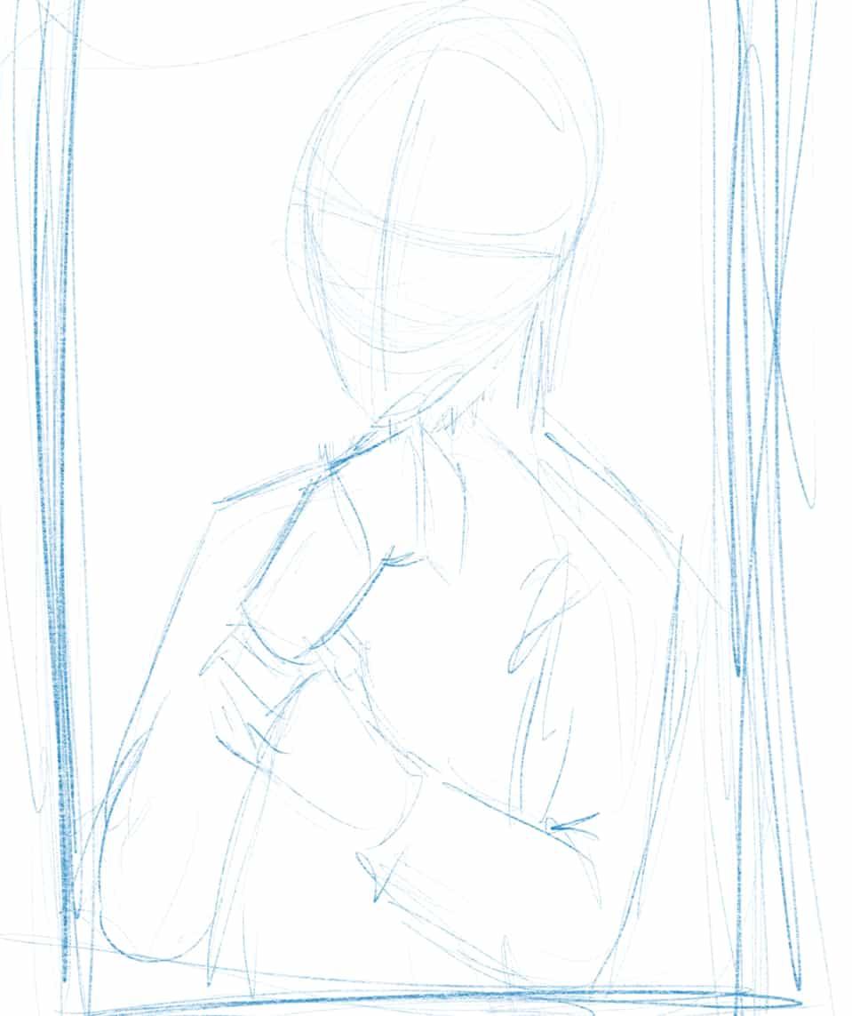 Selfportrait SNK style  Illust of Derwelt Post_Multiple_Images_Contest anime Artwork fanart artist medibangpaint character art Medibang medibang AttackonTitan