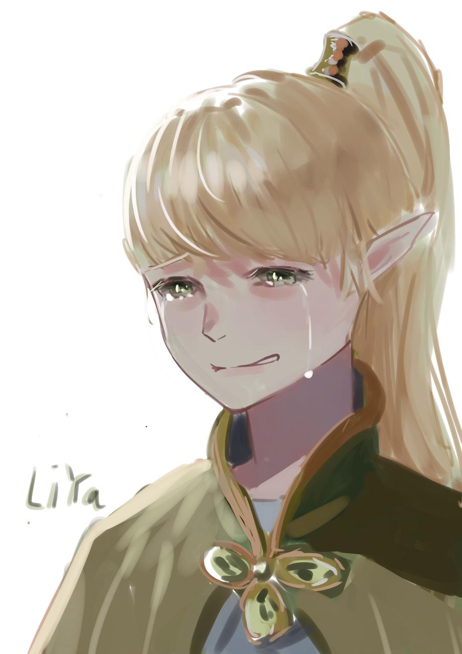 莉雅 Illust of 咸鱼三流 medibangpaint 精灵 anime 龙之谷 莉雅