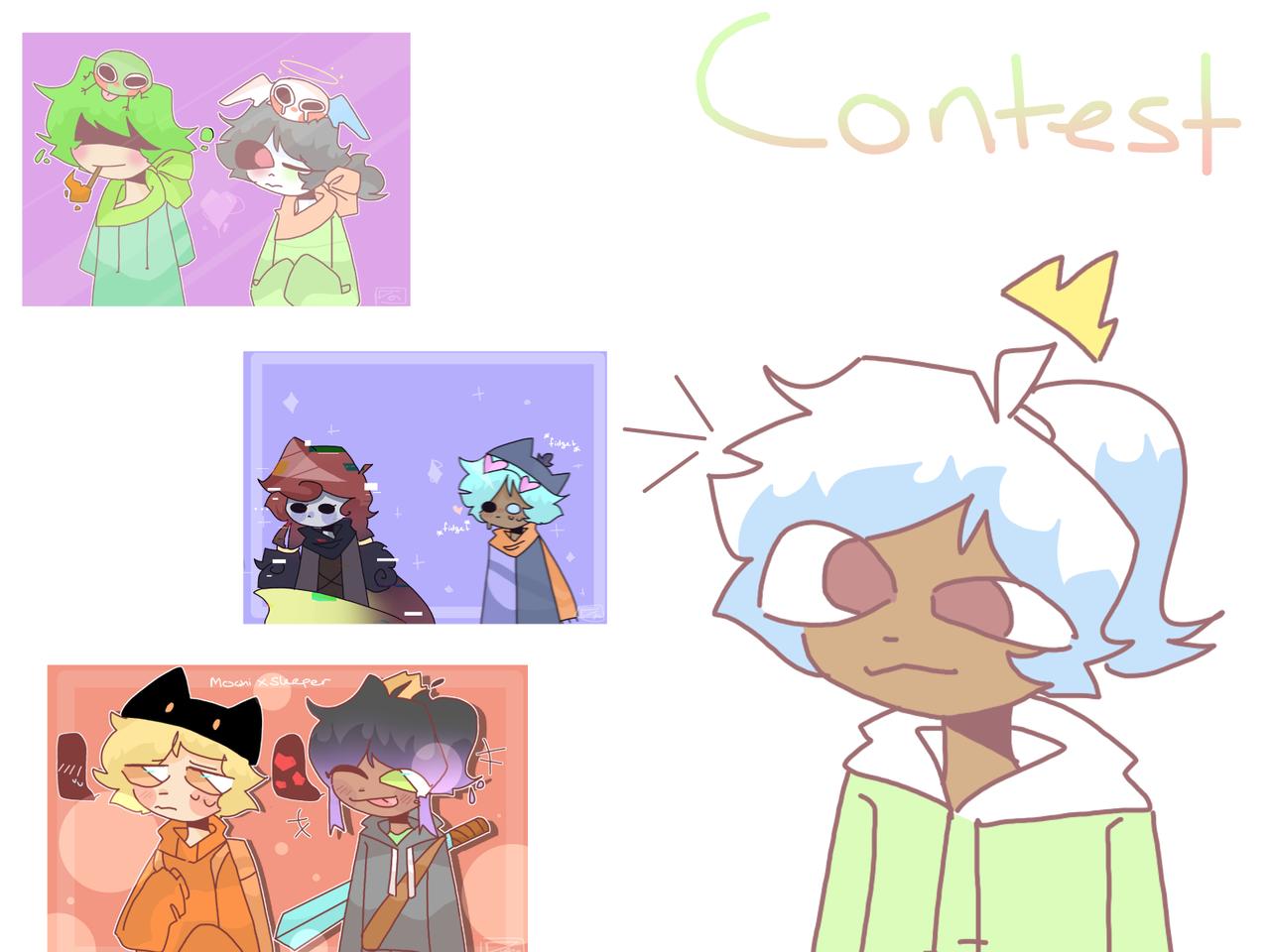 contest read desc  Illust of mint mochi medibangpaint contest