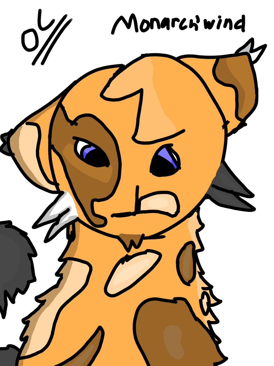 Monarch'Wind Illust of Maple medibangpaint warriorcats Monarchwind warriorcatsoc warriors oc notatwin Wrongname Maple