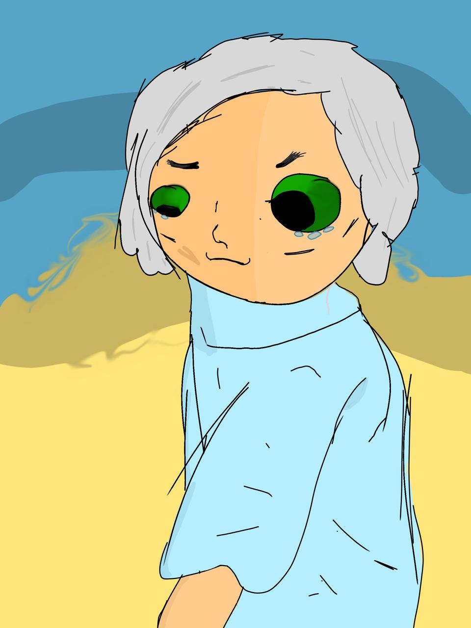 Elderly woman. Illust of Maple medibangpaint bad tookforever Human