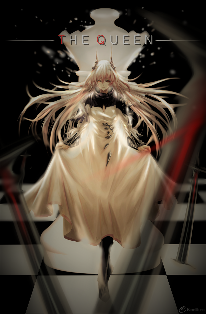 [Arknights] The Queen Illust of Dr. Karlken queen fanart Arknights digital