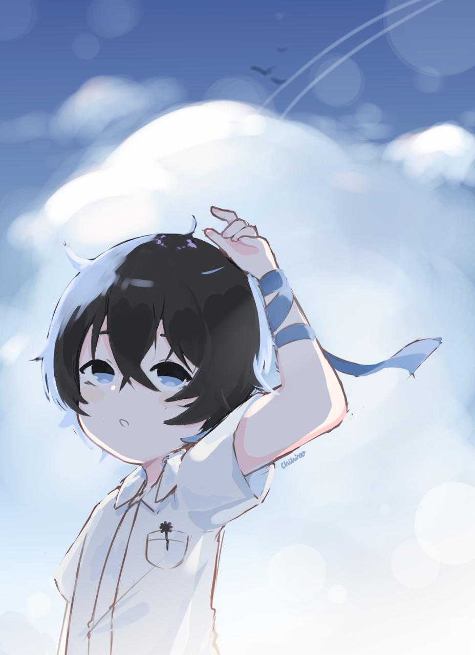Attract Light 【*Luna】 Illust of Chi medibangpaint anime fanart VOCALOID boy