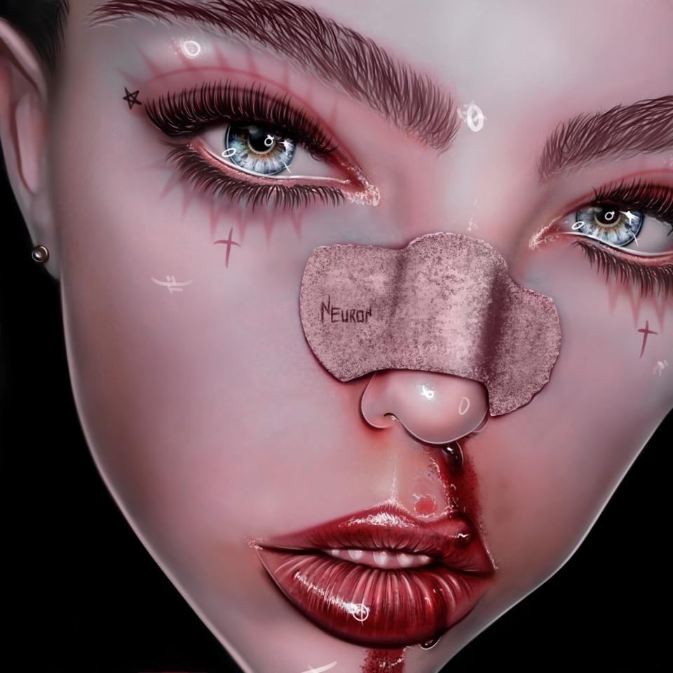 Blood   neur0n Illust of neur0n August2020_Contest:Horror medibangpaint blood dark neur0n