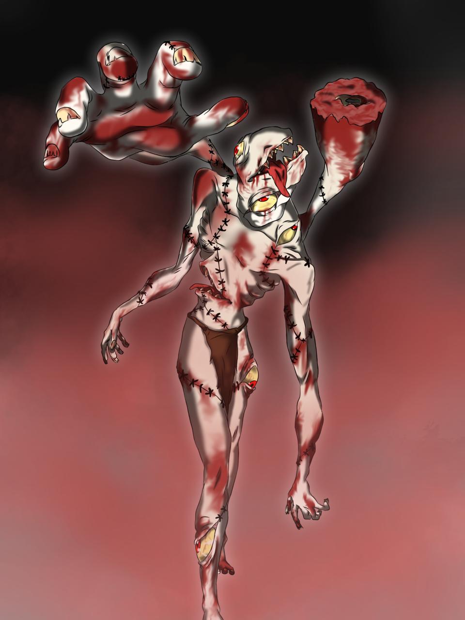 Craving Illust of Alcides Maker ML-JDL August2020_Contest:Horror medibangpaint