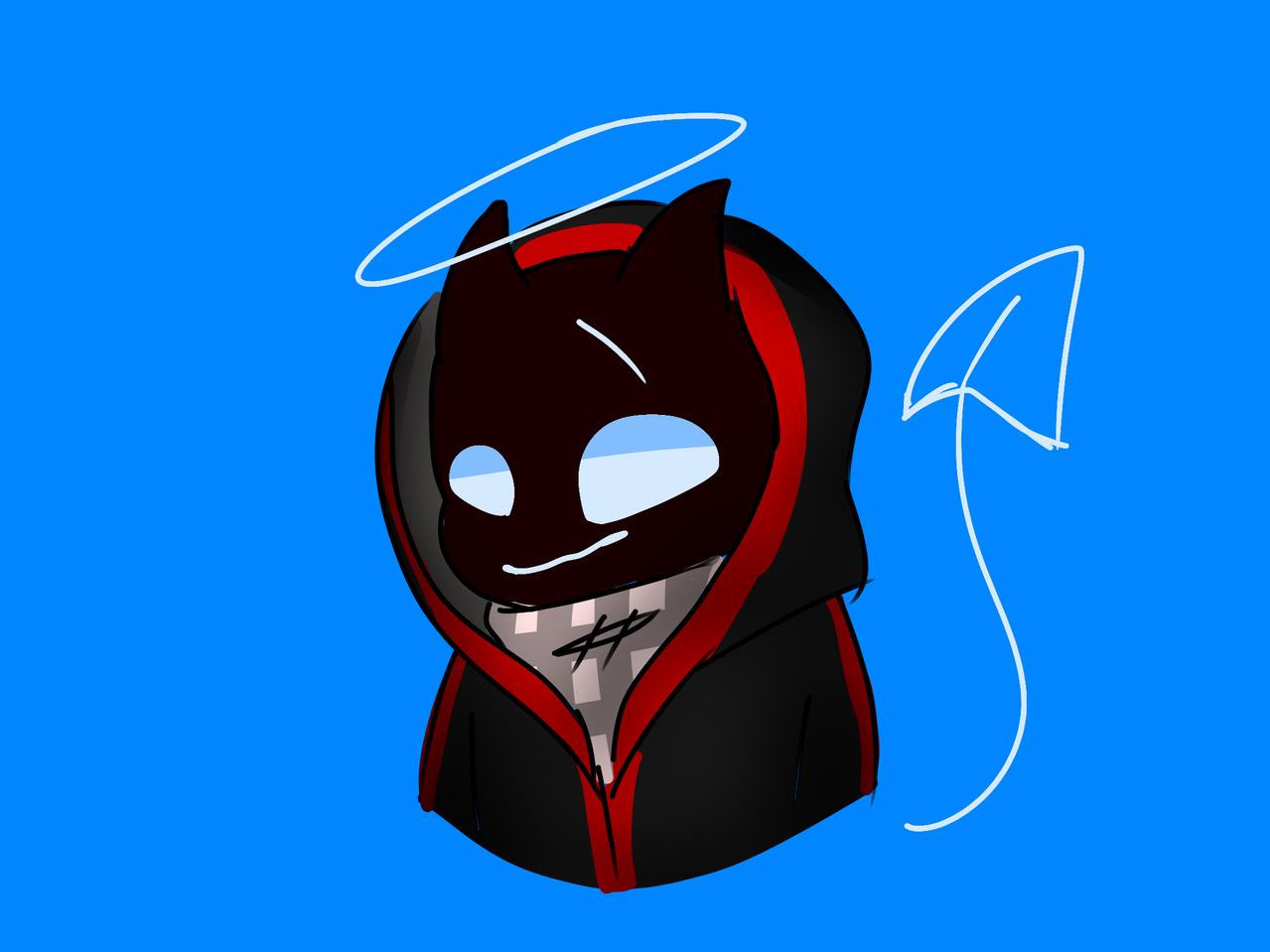 Bbh Illust of GhostTheBeast (Logan mode) badboyhalo blue Bbh red
