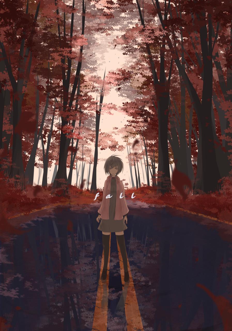 fall Illust of ツチヤ Sep.2019Contest