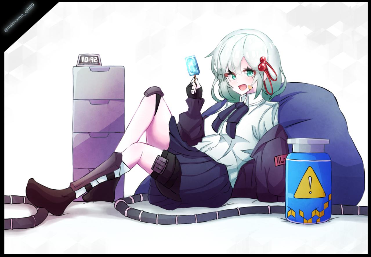 Illust of ないもも September2021_Girl ARTstreet_Ranking_Contest illustration girl oc uniform white