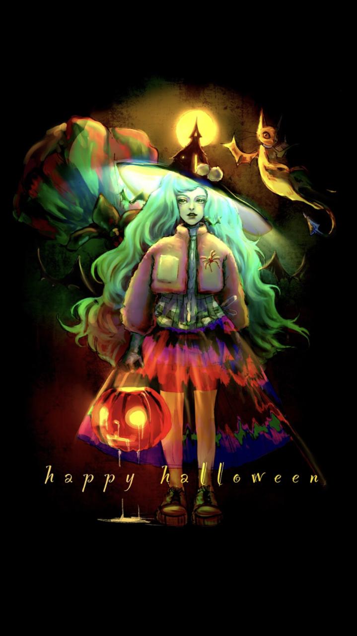 Happy Halloween  Illust of Rj Oct.2019Contest