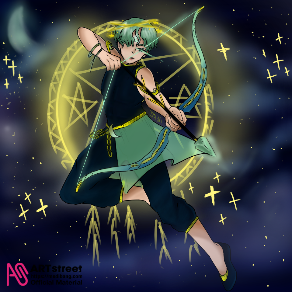 ARCHER Illust of Draeoonn tracedrawing Trace&Draw【Official】 oc