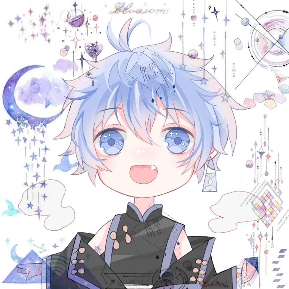 一只小可爱 Illust of 白黎轩 boy chibi head cute