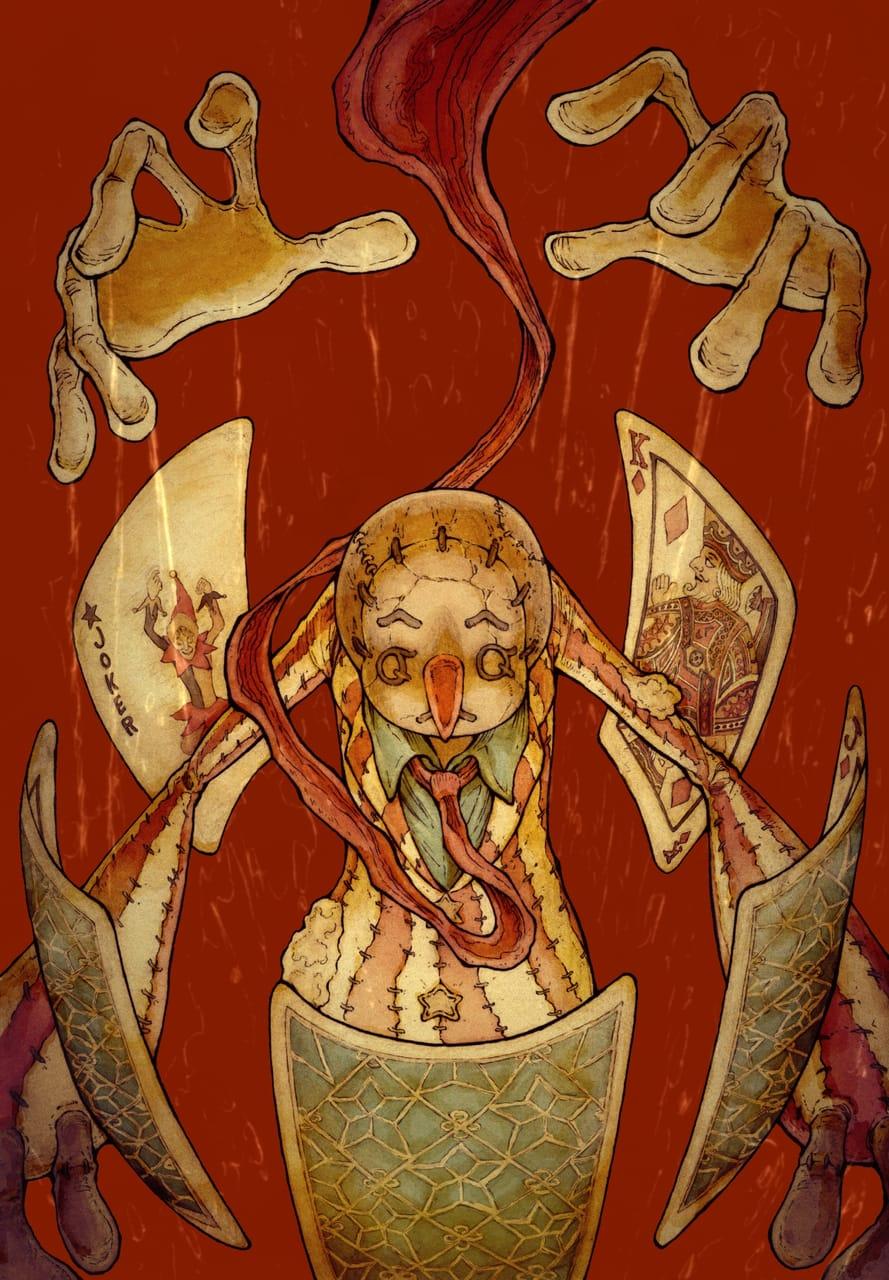 【BB49-39】人間の条件 Illust of ウスイソト 人間の条件 BB49 ハンナ・アーレント