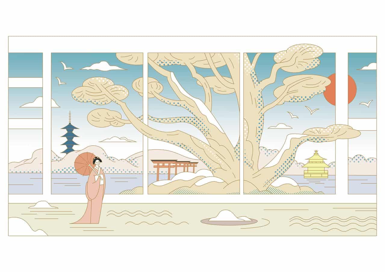 Kyoto Vibe Illust of Jade kyoto-illust2019