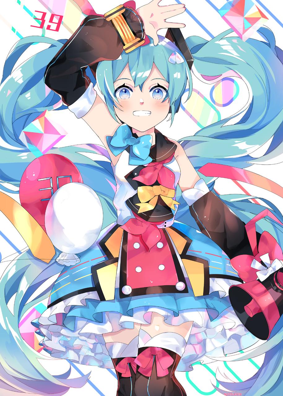 初音 ミク Illust of noodle1618 ミク fanart 初音ミク2018 hatsunemiku