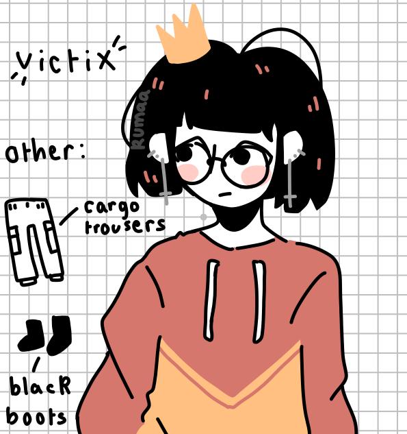 victix ↪ reference sheet