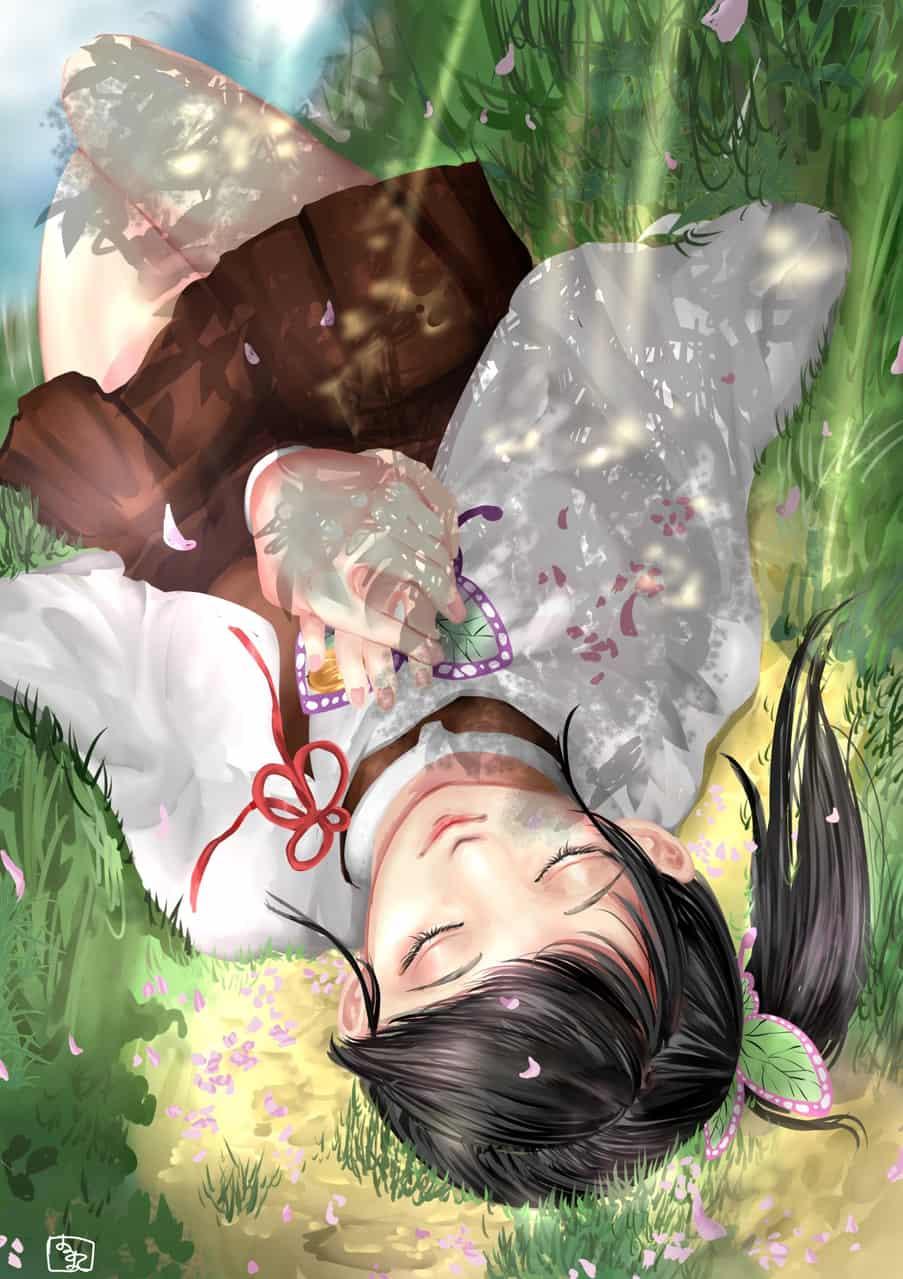 貴方の妹になれて Illust of 芍屋 はる丸 DemonSlayerFanartContest KochoKanae KimetsunoYaiba TsuyuriKanao KochouShinobu
