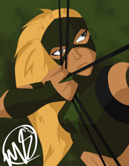 Artemis FanArt  Illust of fallen.dreamer superhero fanart Yj Arrow DC Archer youngjustice Artemis