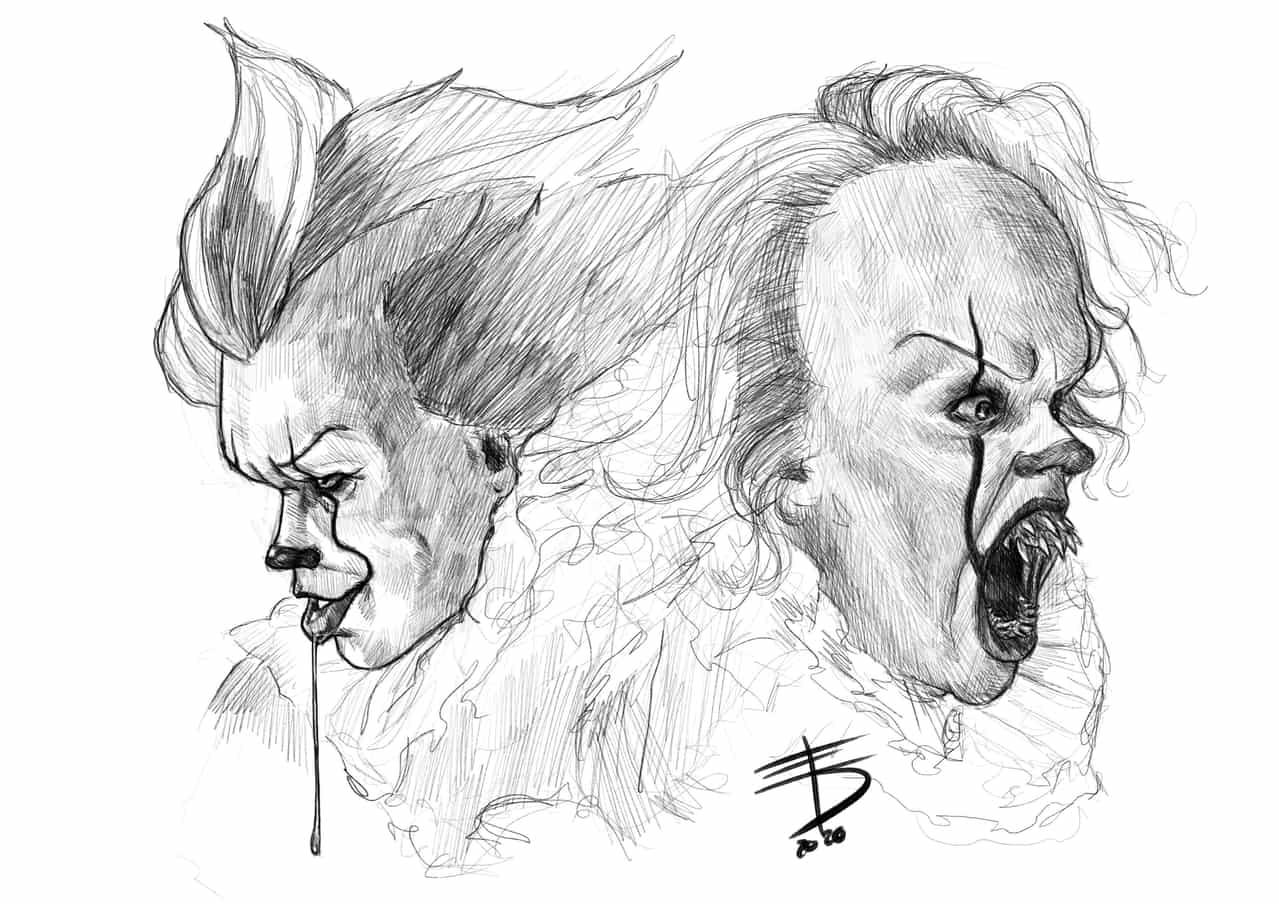 It Illust of Derwelt horror ARTstreet_Ranking sketch drawing Drawings art illustration it Artwork medibangpaint