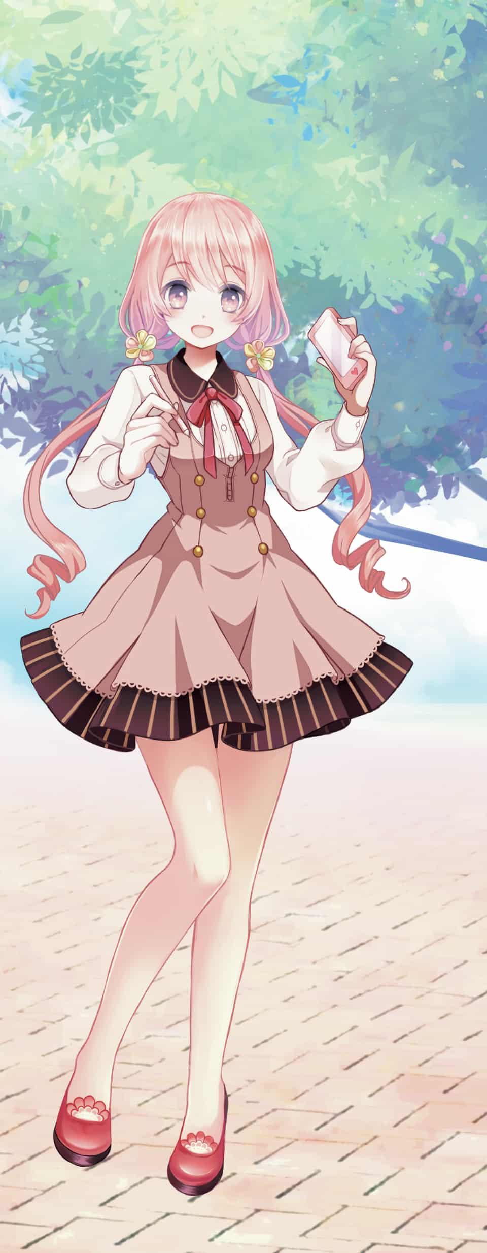 桜色 Illust of 彩葉 PASTEL_SKETCH2020