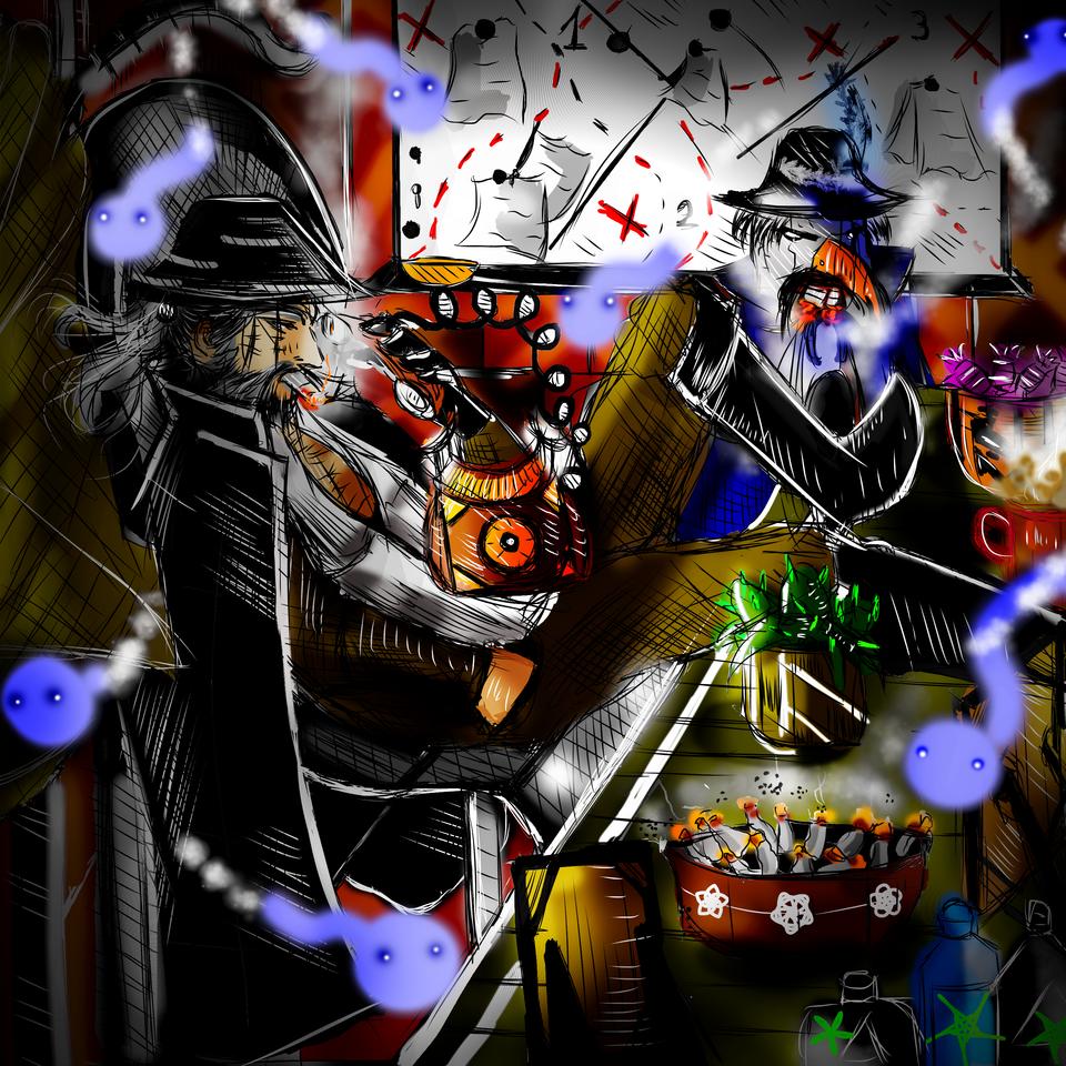 Soul Detective. Dr. Ido Illust of AcP detective