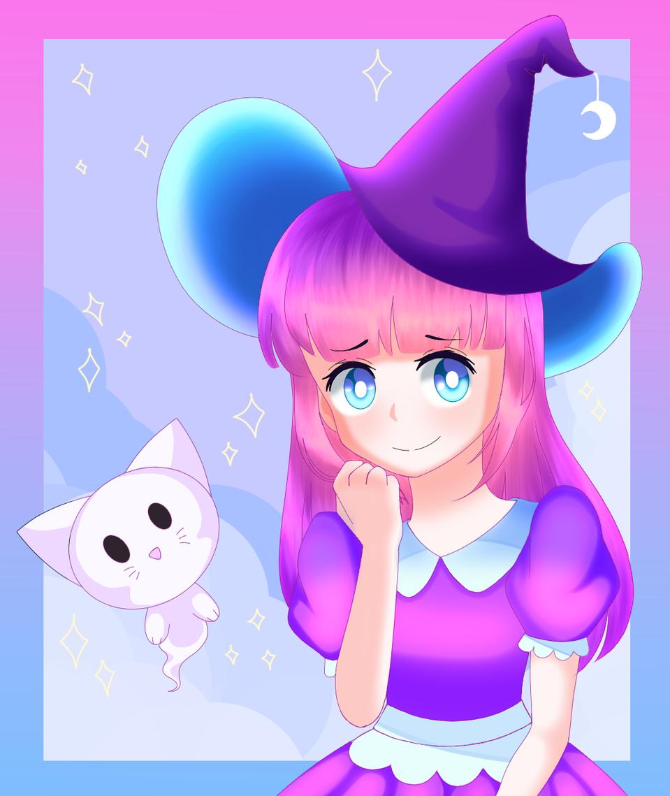 DTIYS Illust of Fun_artz :3 illustration witch perSon Fun_artz:3 art girl personiscool dtiys