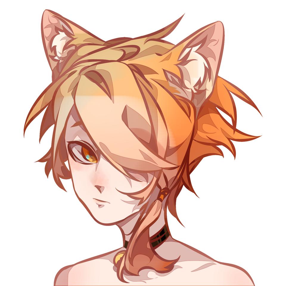 Illust of 虫草子 medibangpaint animal_ears