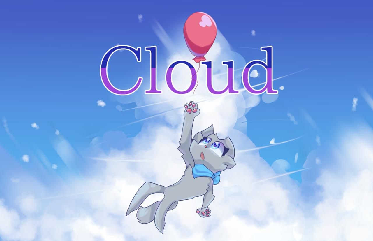 C l o u d Illust of Zizi cloud cat medibangpaint