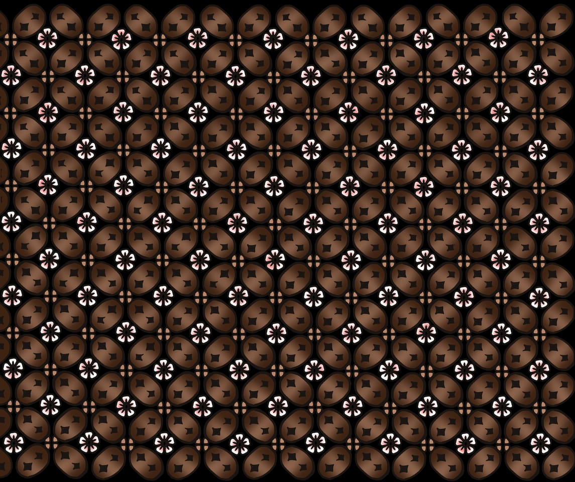 JJ Mask Project [Design 1] Illust of Hayra96 MaskDesignContest medibang sakura smangartgallery Pattern medibangpaint hayra96 Batik