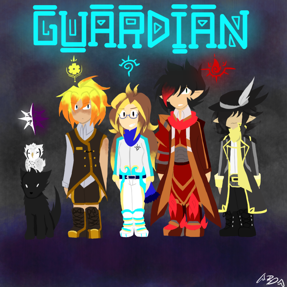 Splatoon Styled Band Cover: GUARDiAN - ReshiraDragon