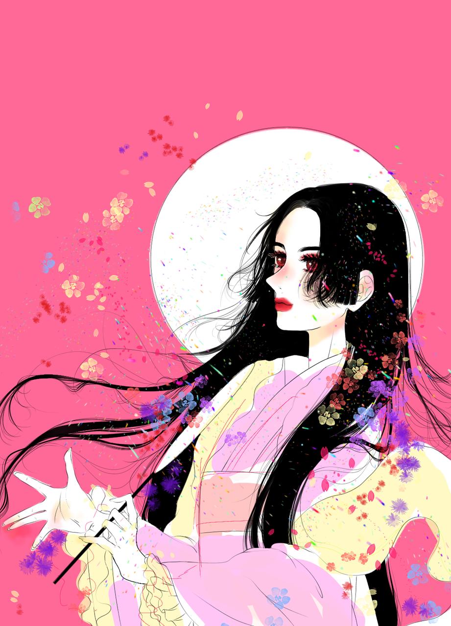 girls Illust of 수아이 medibangpaint