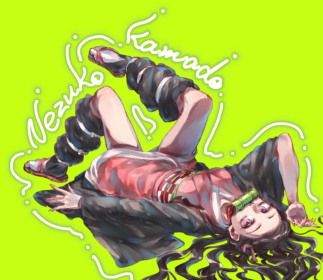 nezuko Illust of みなみ 茶哂 DemonSlayerFanartContest KimetsunoYaiba KamadoNezuko