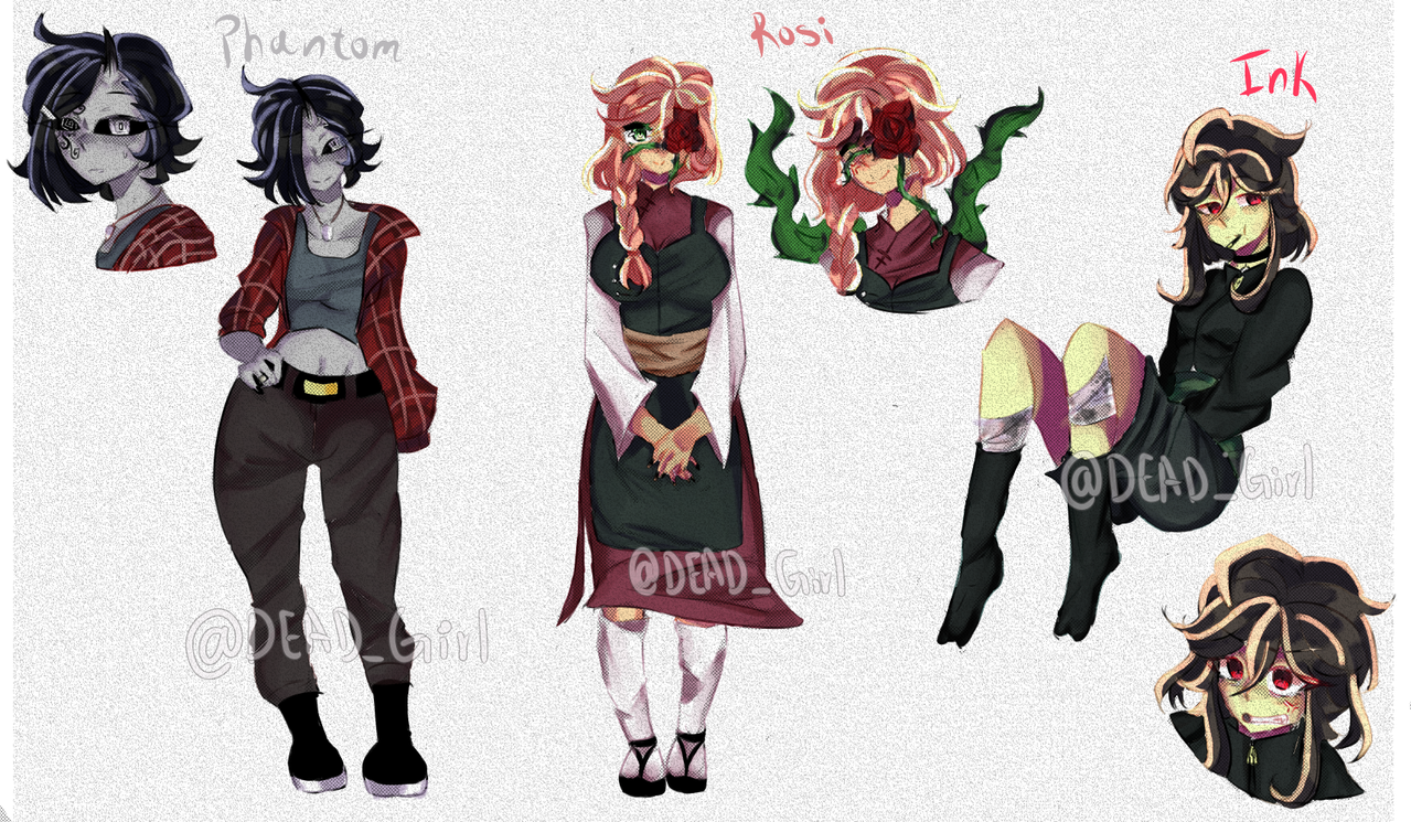 Redesigns ~! [再設計〜!] Illust of @DEAD_girl (Estela fox) medibangpaint