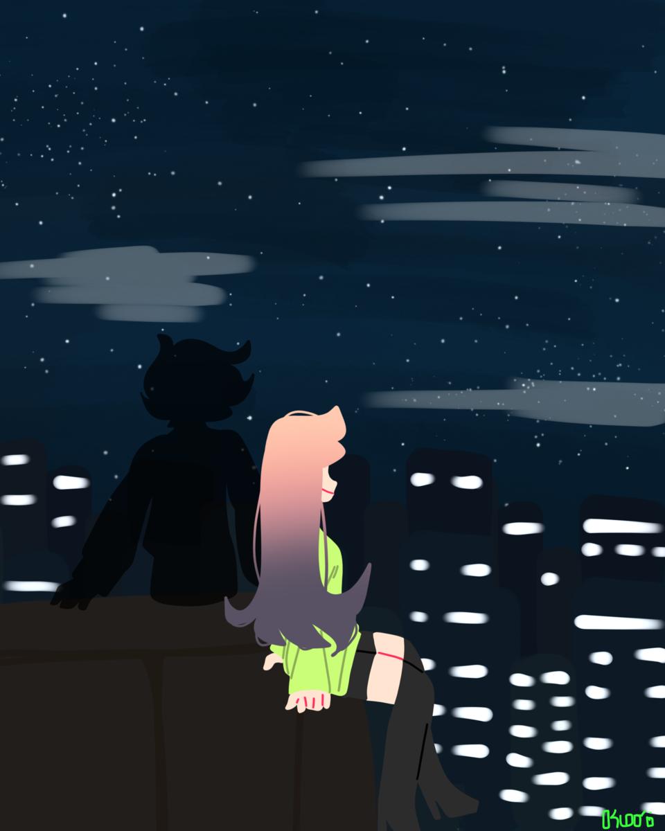 『A ғᴏɴᴅ ᴍᴇᴍᴏʀʏ ᴏғ ᴍʏ ʙᴇʟᴏᴠᴇᴅ』 Illust of DreamiiKuri | Drèam mode©️ oc drawing lineless anime