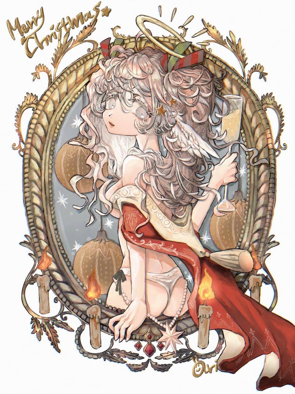 天使と乾杯 Illust of あり angel oc
