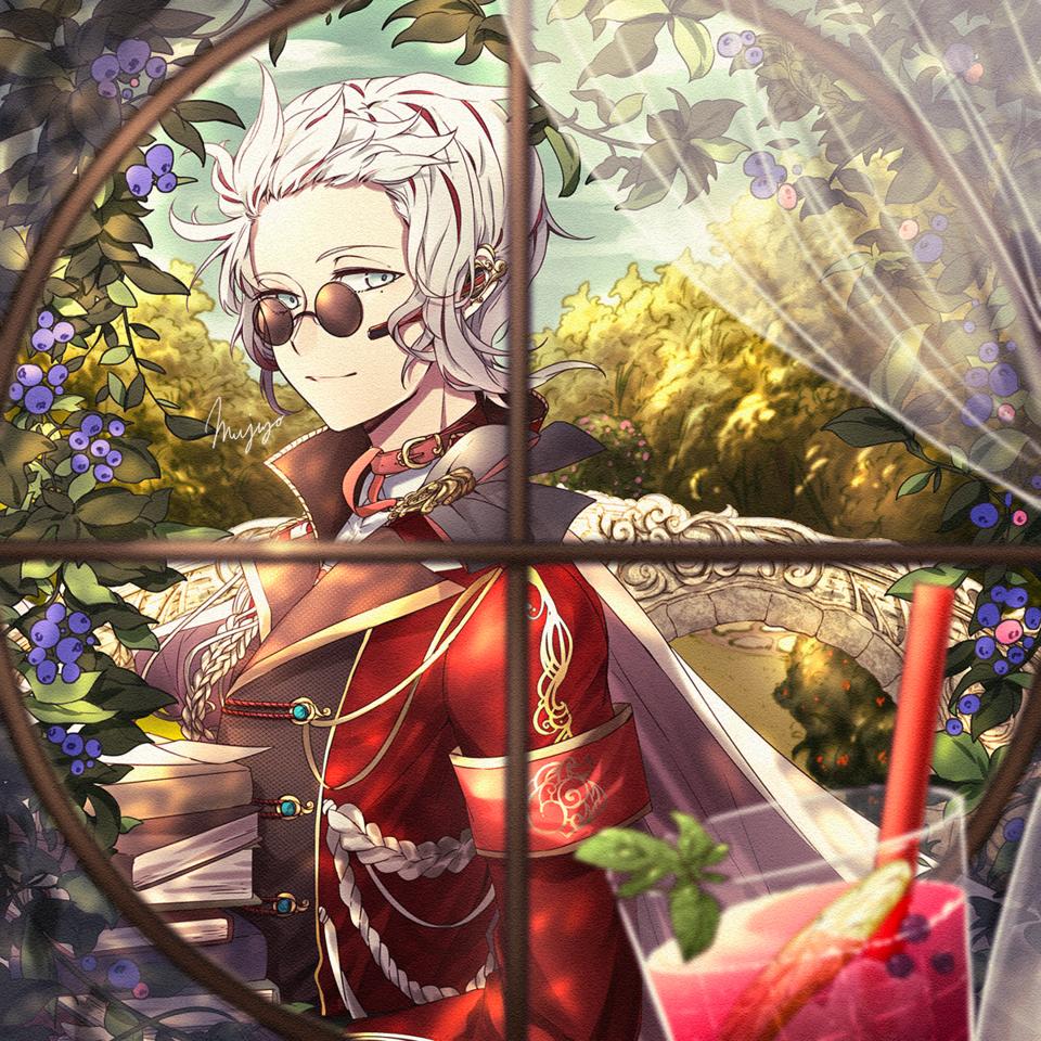こんにちは Illust of 睦城 oc original 眼 male