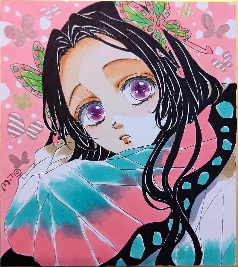 戯れ。 Illust of ミト KochoKanae KimetsunoYaiba コピックイラスト