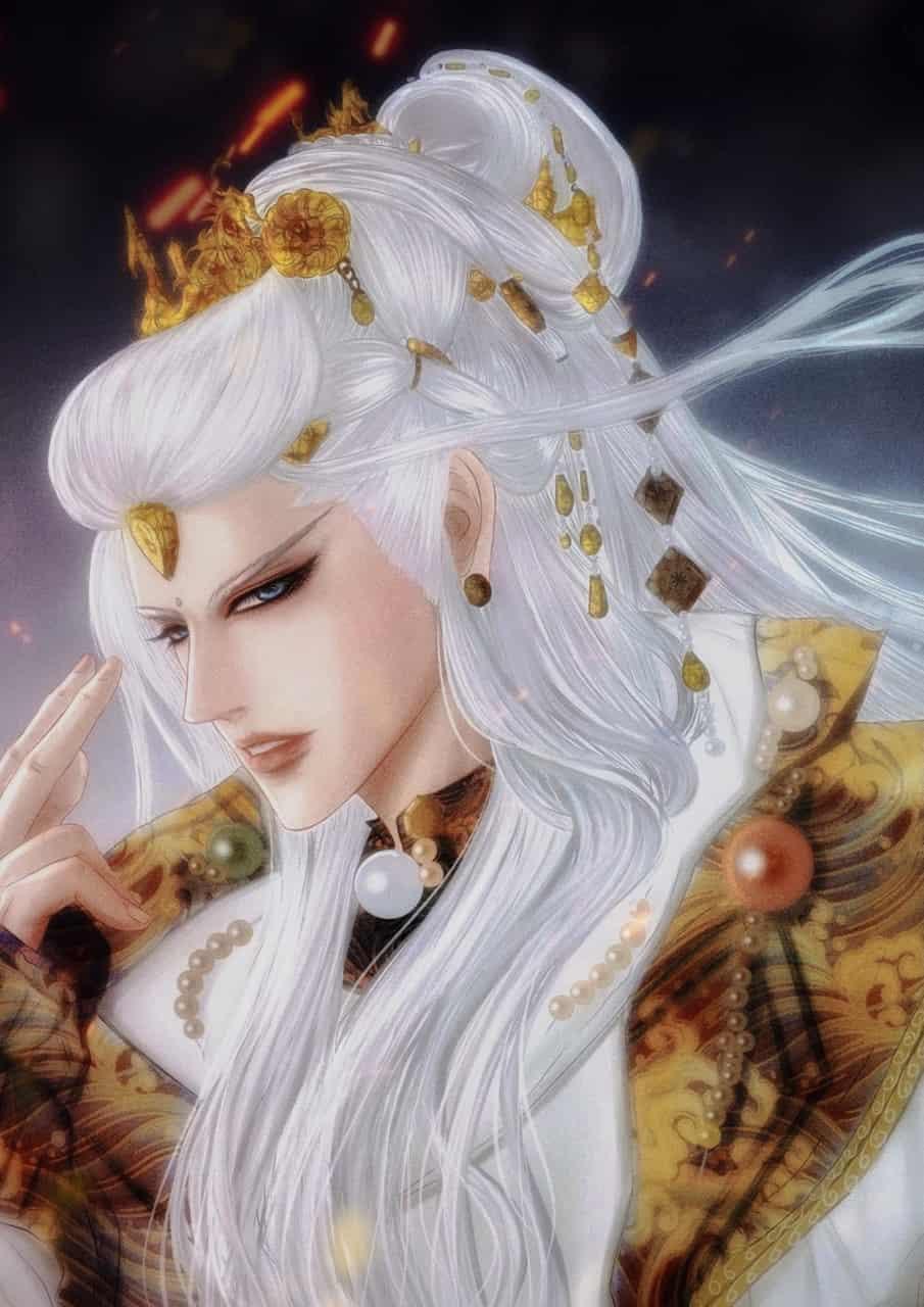 墨傾池 Illust of Gigi Yip Post_Multiple_Images_Contest 古風 illustration 同人绘 white_hair medibangpaint 霹靂布袋戲