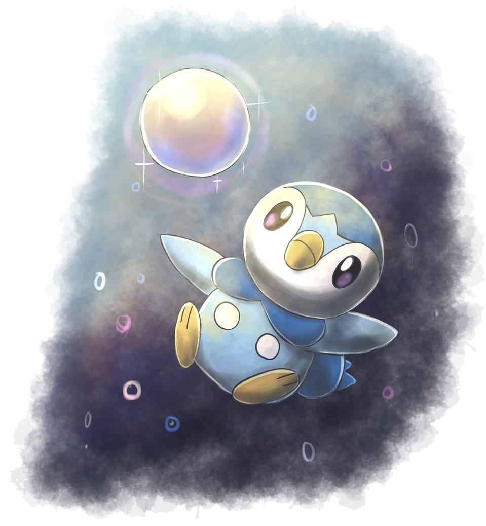 ポッチャマ Illust of 88里 ポケモンDPt pokemon pokemonday2021 ポッチャマ ポケモン25周年