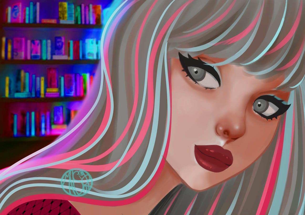 Ahaya  Illust of maishiro September2021_Girl maishiroart girl contest medibangpaitpro